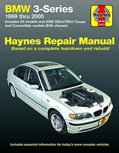 BMW 3-Series: 1999 thru 2005 (Haynes Manuals)