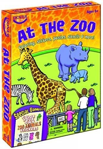 At the Zoo Fun Kit (Dover Fun Kits) by Dover (2008-09-19)