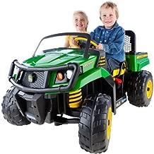 Peg Perego IGOD0063 John Deere Gator XUV 12-volt Battery-Powered 4.5 Mph Speed, 130 Pounds Weight Capacity Ride-On