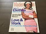 Mademoiselle Feb 1991 Love Work But No Sex; Clothes, Sensitive Skin