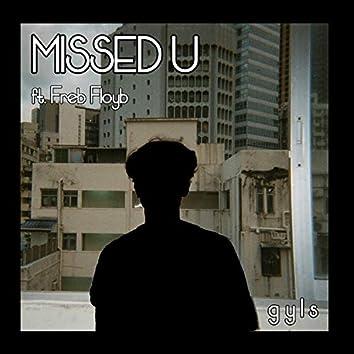 missed u (feat. Freb Floyb)