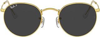 Ray-Ban Men's Rb3447 Metal Round Sunglasses