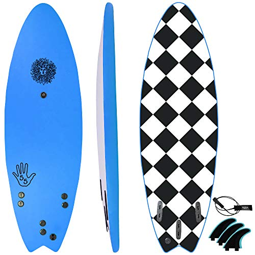 KONA SURF CO. The 5-5 Surfboard for Beginners Kids and...