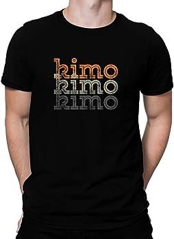 Kimo repeat retro - Tシャツ