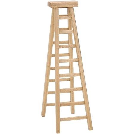 1:12 Dollhouse Miniature Furniture Handmade Wooden Ladder Doll Accessories BH