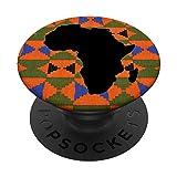 Impresión Africana Naranja Tribal Print Kente Design Ankara...