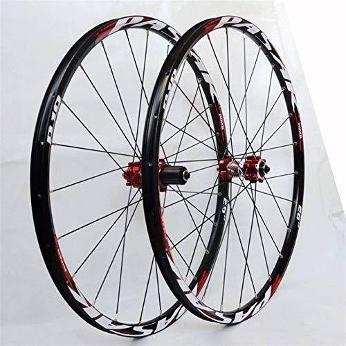 Llanta de bicicleta MTB Rueda De Bicicleta 26 27.5 29 Pulgadas De Freno De Disco Para Bicicletas Para Bicicletas De Bicicleta 24 Habla 7-12ste Cassette Flywheel QR BUBS DE RODAMIENTO SELLADO 1850G