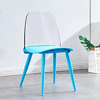 QFWM Sillas de Comedor Sillas de café y sillas de Comedor for Casual Home Living y comedores Cocina Comedor Muebles (Color : Six, Size : 51x44x80cm)