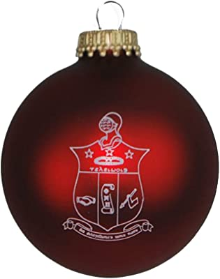 Greekgear Kappa Alpha Psi Glass Christmas Ornament