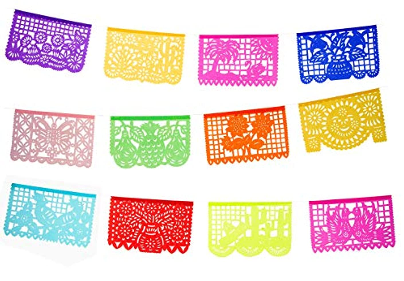 Party Pack - Mexican Tissue Papel Picado Banner