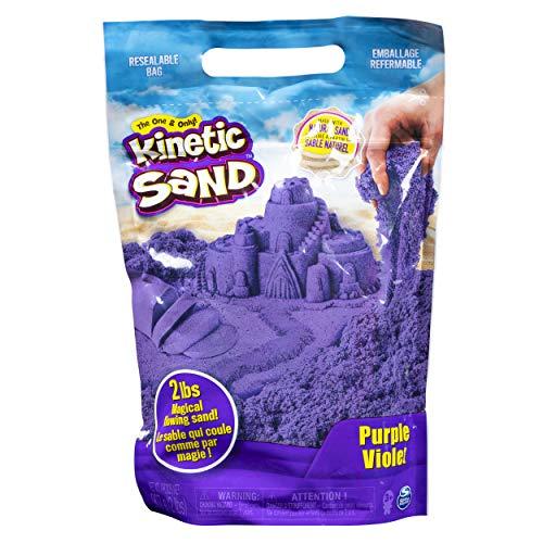 Kinetic Sand 6047184 - Kinetic Sand lila, 907 g