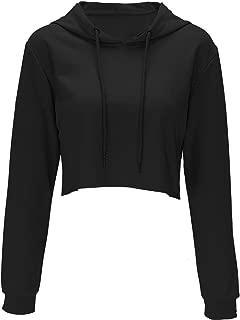 queen crop top hoodie