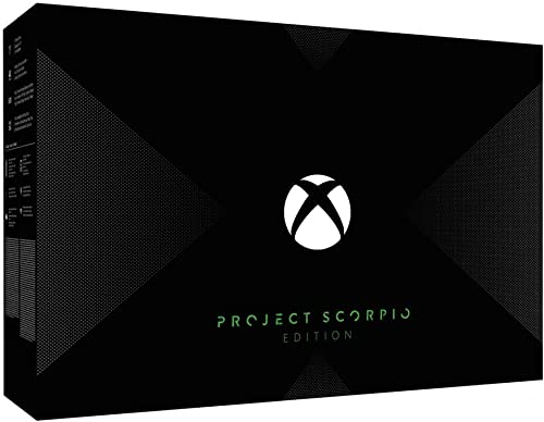 Xbox One X 1 To - Scorpio Project - Edition limitée