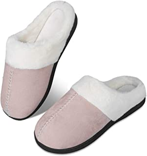 WateLves Pantofole Invernali da Uomo e da Donna morbide e comode Pantofole in Cotone Memory Pantofole Antiscivolo per la c...