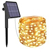 Luces de Hadas Solares Luces de Cadena Solares LED Para Exteriores Jardín de...