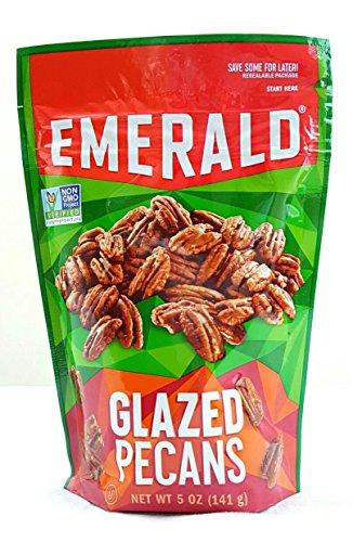 Emerald Glazed Pecans, Non GMO Verified, 5 oz (Pack of 4)