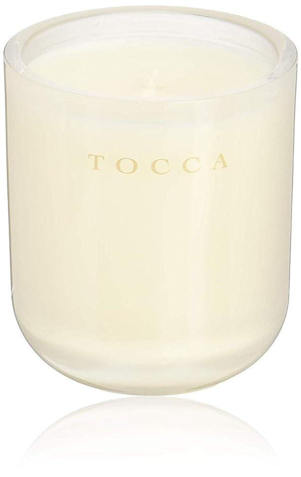 庭園であるチームTOCCA(トッカ) ボヤージュ キャンドル ボラボラ 287g (ろうそく 芳香 バニラとジャスミンの甘く柔らかな香り)