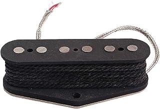 SUPVOX Vintage Alnico V Guitar Pickup Magnet Neck Pickup Alnico 5 Pickup para Fender Telecaster/Tele Reemplazo de Piezas de Guitarra eléctrica GMA02
