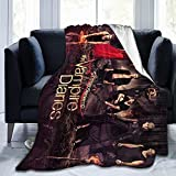 Vampire Diaries Blanket Ultra Soft Plush Bed Blankets Cozy Lightweight Couch Throw for Adults and Kids