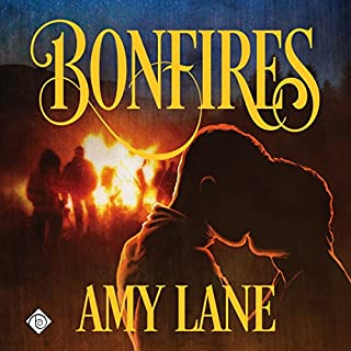 Bonfires audiobook cover art