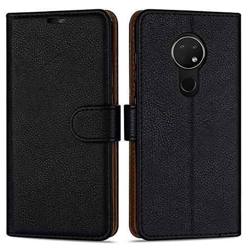 Hülle Collection Hochwertige Leder hülle für Nokia 6.2 Hülle (6,3