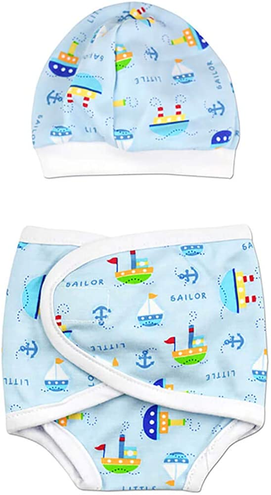 Perfectly Preemie Boys Girls Houston Mall Set Diaper Max 72% OFF Cover