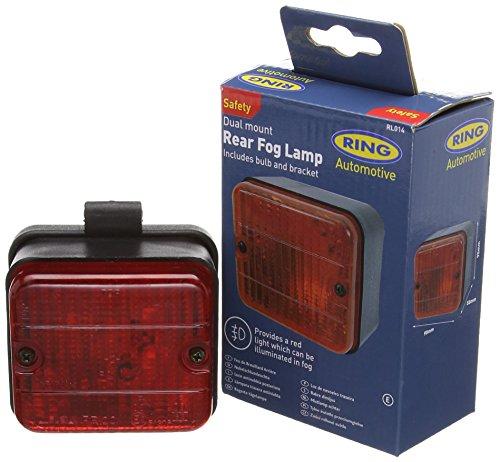 RING RL014 Feu Antibrouillard - Rouge
