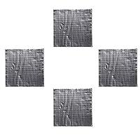 4個 ヒートベッド 断熱綿箔 自己粘着性 温床熱パッド 300 * 300mm