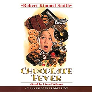 Chocolate Fever audiobook cover art