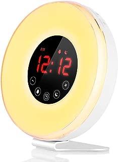 sun simulation alarm clock