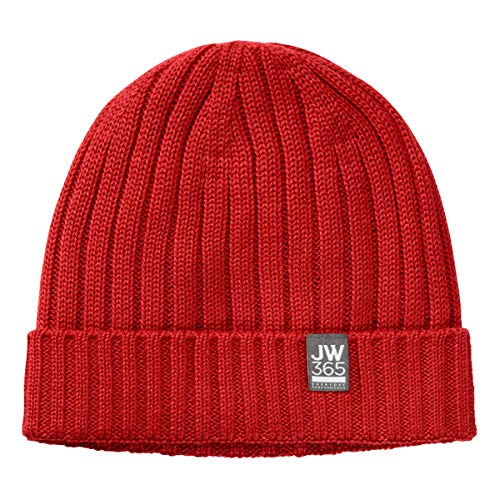 Jack Wolfskin 365 Stormlock Rip Knit Casquettes Unisex Mixte Adulte, Peak Red, FR Unique (Taille Fabricant : One Size)