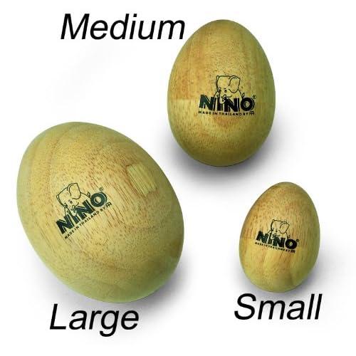 Meinl NINOSET540 Nino Percussion Egg Shakers Set Of FOUR