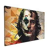 Ale-Art Joker ジョーカー キャンバス 印刷 アート ポスター 絵画 壁掛け インテリア 30cm×45cm 風景 バスルーム ダイニングルーム 装飾