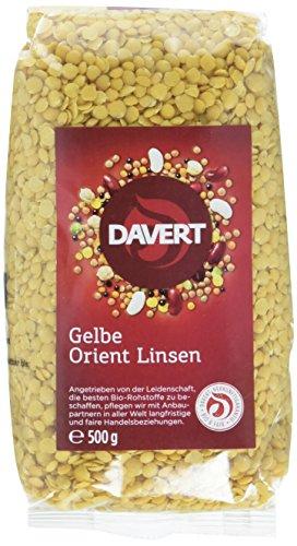 Davert Gelbe Orient Linsen (1 x 500 g) - Bio
