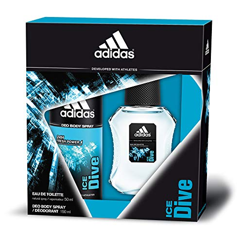 Adidas Ice Dive Set para Hombre - 150 ml