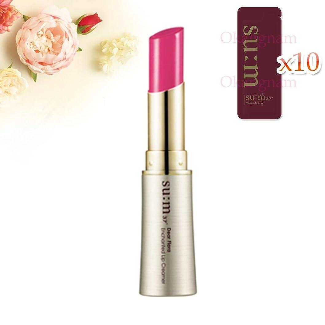 アトミック鑑定全員[su:m37/スム37°] SUM37  Dear Flora Enchanted Lip Creamer 05Peony Pink/DF05 sum37 スム37 ディア フローラ エンチャンテッド リップクリーマー 5ピオニーピンク +[Sample Gift](海外直送品)