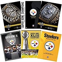 NFL Pittsburgh Steelers Ultimate Megaset DVD Collection: Super Bowl Champions / America's Game: Super Bowl 10 (X) / America's Game: Super Bowl 13 (XIII) / Super Bowl 40 (XL) Champions / Road to Super