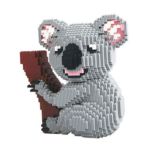 BAIDEFENG Nano Mikroblöcke Koala Diamant Mini Tier Bausteine 3D Puzzles DIY Pädagogische Stressabbau Spielzeug Geschenk Für Erwachsene Kinder