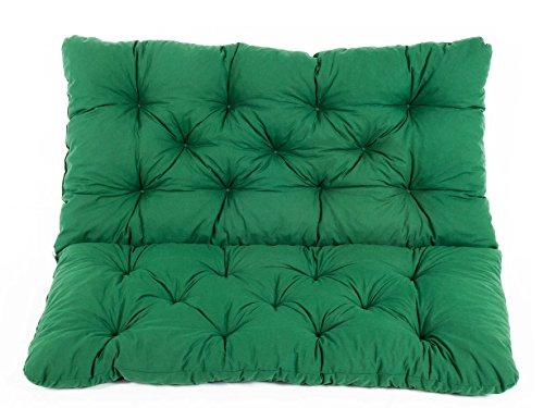 Meerweh Zitkussen en rugkussen Bank Hanko, ca 100 x 98 x 8 cm, bankkussen, bekleding groen