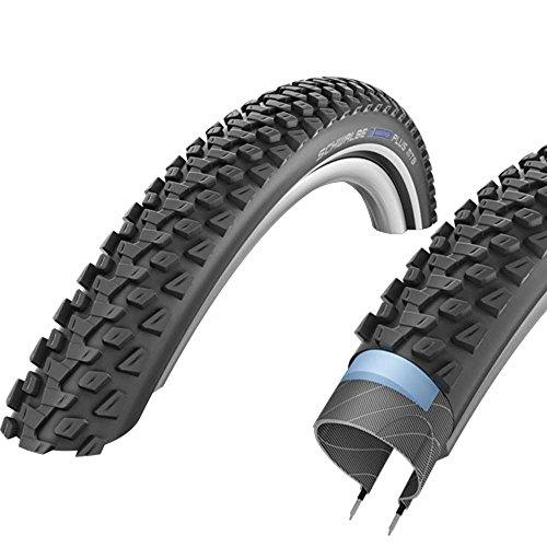 Schwalbe Unisex– Erwachsene Marathon Plus MTB HS468 Reifen, schwarz, 27.5x2.25 Zoll