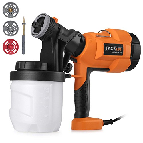 Paint Sprayer 800ml/min, Electric Spray Gun with Three Spray Patterns,...