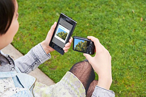 Sony DSC-WX220 Digitalkamera (18 Megapixel, 10-fach opt. Zoom, 6,8 cm (2,7 Zoll) LCD-Display, NFC, WiFi) gold