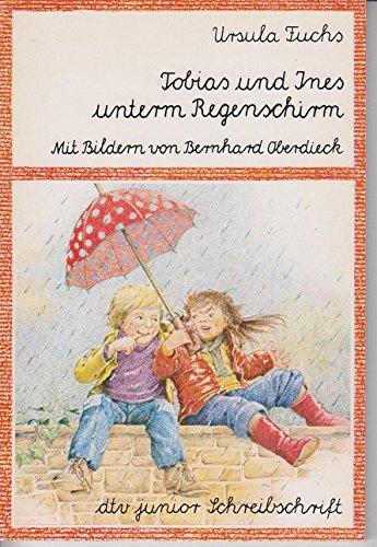 Tobias und Ines unterm Regenschirm