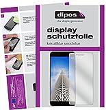 dipos I 2X Schutzfolie klar kompatibel mit Vernee Mars Pro Folie Bildschirmschutzfolie