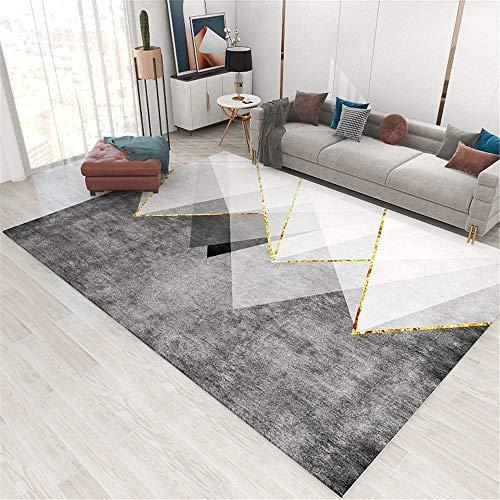 Kunsen 0 0 Restaurante Alfombra sofá Beige Alfombra Negro Gris gradiente desenfoque diseño Ligero Estilo de Lujo Alfombra 0 200x300cm