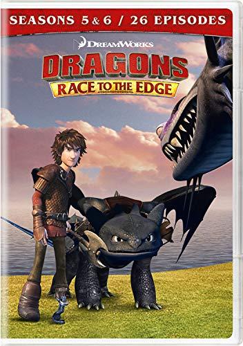 Dragons: Race To The Edge - Seasons 5 & 6 (4 Dvd) [Edizione: Stati Uniti]