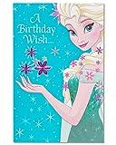 American Greetings Birthday Card for Girl (Frozen, Queen Elsa)