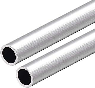 OD ID BTCS-X 1pcs-Aluminum Tube Alloy Hollow AL Rod Inner Diameter 3mm-9mm Hard Bolt Pipe Catheter 300mm L 12mm OD-DIY Accessories Hardware Accessories x5.5mm Size : 12mm