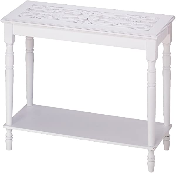 VERDUGO GIFT 34709 Carved Top Table Multicolor