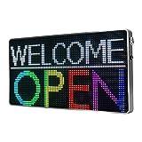 NICESO Rótulo LED P4mm (RGB) full color, WIFI, Letreros led publicitarios,...